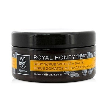 Royal Honey Body Scrub With Sea Salts