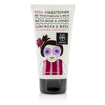 Apivita Kids Conditioner With Rose & Honey
