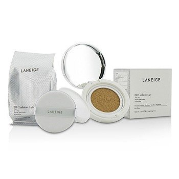 Laneige BB Cushion Foundation SPF 50 With Extra Refill - Light