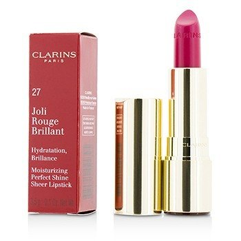 Clarins Joli Rouge Brillant (Moisturizing Perfect Shine Sheer Lipstick) - # 27 Hot Fuchsia