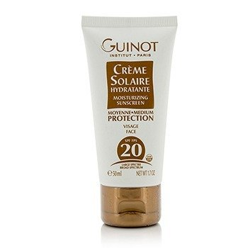 Guinot Creme Solaire Hydratante Moisturizing Sunscreen For Face SPF20