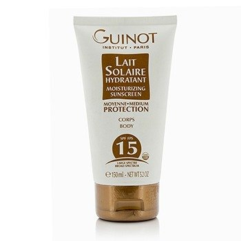 Guinot Lait Solaire Hydratant Moisturizing Sunscreen For Body SPF15