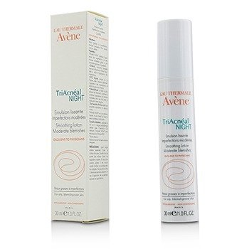 Avene TriAcneal Night Smoothing Lotion - For Oily, Blemish-Prone Skin