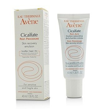 Avene Cicalfate Post-Procedure Skin Recovery Emulsion - For Sensitive & Fragile Skin