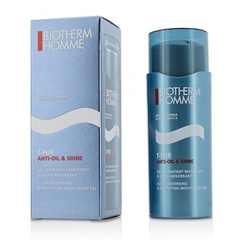 Biotherm Homme T-Pur Anti Oil & Shine Ultra Absorbing & Mattifying Moisturizer Gel
