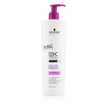 Schwarzkopf BC Color Freeze Rich Shampoo - For Overprocessed Coloured Hair (Exp. Date: 07/2017)