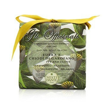 Nesti Dante Gli Officinali Soap - Ivy & Clove - Therapeutic & Relaxing