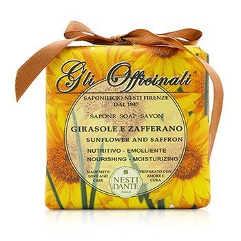 Nesti Dante Gli Officinali Soap - Sunflower & Zafferano - Nourishing & Moisturizing