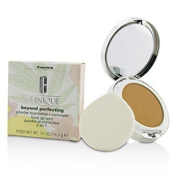 Clinique Beyond Perfecting Powder Foundation + Corrector - # 18 Sand (M-N)