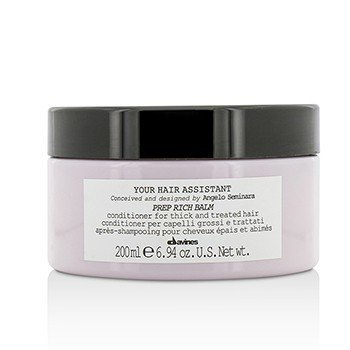 Davines Your Hair Assistant Prep Rich Balm Conditioner (For Thick and Treated Hair)