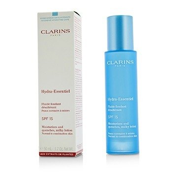 Clarins Hydra-Essentiel Moisturizes And Quenches Milky Lotion SPF 15 - Normal to Combination Skin