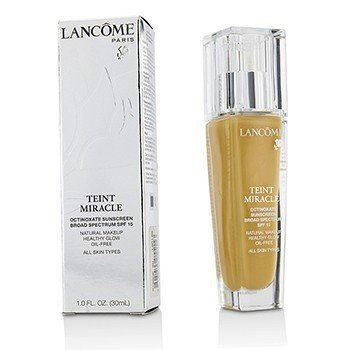 Lancôme Teint Miracle Natural Healthy Glow Makeup SPF 15 - # 320 Bisque 4W (US Version)