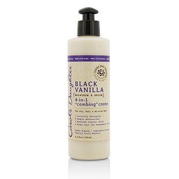 Carols Daughter Black Vanilla Moisture & Shine 4-in-1 Combing Creme (For Dry, Dull or Brittle Hair)