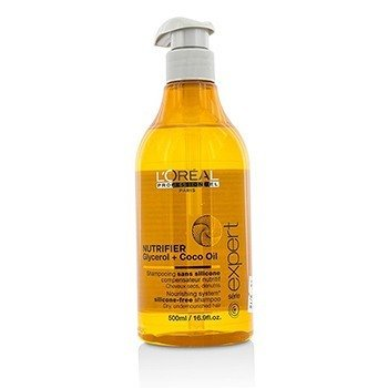 LOreal Professionnel Expert Serie - Nutrifier Glycerol + Coco Oil Silicone-Free Shampoo (For Dry, Undernour