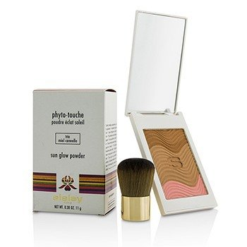 Sisley Phyto Touche Sun Glow Powder With Brush - # Trio Miel Cannelle