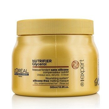 LOreal Professionnel Expert Serie - Nutrifier Glycerol  Silicone-Free Melting Masque - Rinse Out (For Dry,