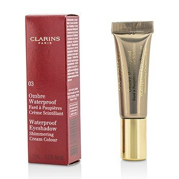 Clarins Ombre Waterproof Eyeshadow Shimmering Cream Colour - #03 Silver Taupe