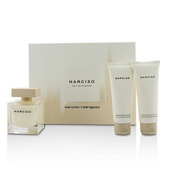 Narciso Rodriguez Narciso Coffret: Eau De Parfum Spray 90ml + Body Lotion 75ml + Shower Cream 75ml