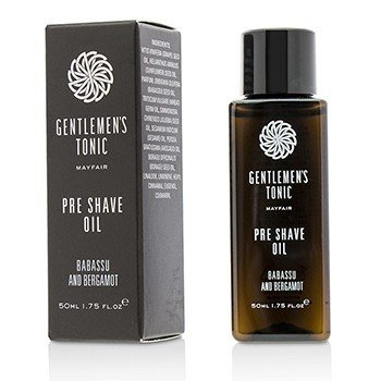 Gentlemens Tonic Babassu And Bergamot Pre Shave Oil