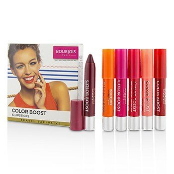 Bourjois Colorboost Glossy Finish Lipstick Set
