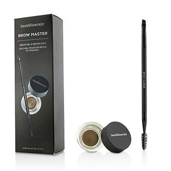 Brow Master Duo (Brow Gel & Brush) - Universal Taupe