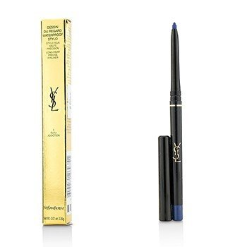 Yves Saint Laurent Dessin Du Regard Waterproof Stylo Long Wear Precise Eyeliner - # 3 Bleu Addiction