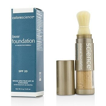 Colorescience Loose Mineral Foundation Brush SPF20 - Tan Natural