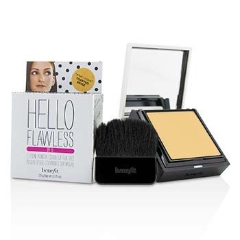 Benefit Hello Flawless! Custom Powder Cover Up For Face SPF15 - # What I Crave (Toasted Beige)