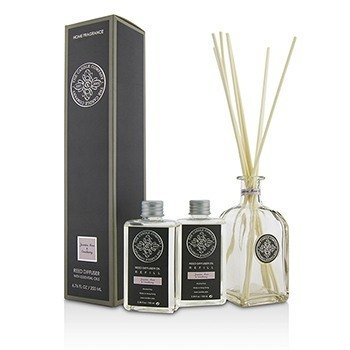 The Candle Company Reed Diffuser with Essential Oils - Jasmine, Rose & Cranberry