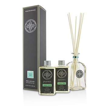 The Candle Company Reed Diffuser with Essential Oils - Green Seas