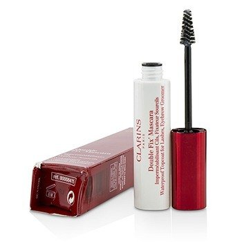 Double Fix Mascara (Waterproof Topcoat For Lashes, Eyebrow Groomer) (Box Slightly Damaged)