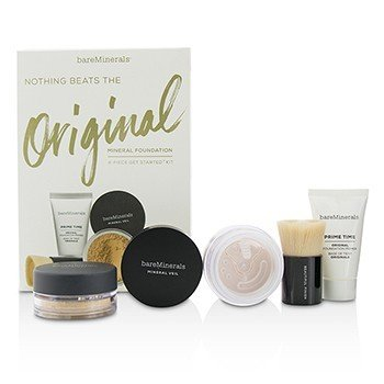 Bare Escentuals Get Started Mineral Foundation Kit - # 12 Medium Beige