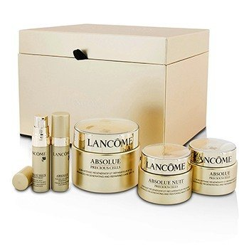 Lancôme Absolue Precious Cells Set: Repairing Care SPF 15 50ml&15ml + Night Cream 15ml + Oleo-Serum 5ml + Eye Concentrate 5ml