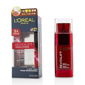 LOreal New Revitalift Triple Power Intensive Skin Revitalizer Serum + Moisturizer