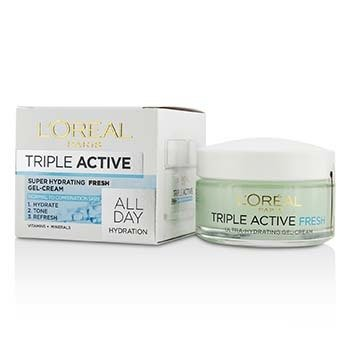 Triple Active Super Hydrating Fresh Gel-Cream - For Normal To Combination Skin