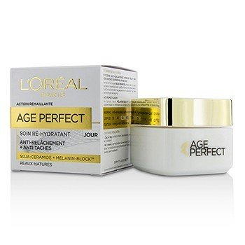 LOreal Age Perfect Re-Hydrating Day Cream - For Mature Skin