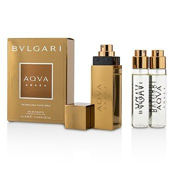 Bvlgari Aqva Amara The Refillable Eau De Toilette Travel Spray
