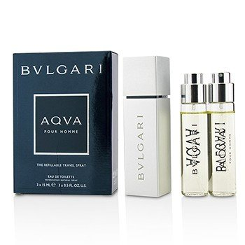 Bvlgari Aqva Pour Homme The Refillable Eau De Toilette Travel Spray