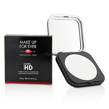 Make Up For Ever Ultra HD Microfinishing Pressed Powder - # 01 (Translucent)