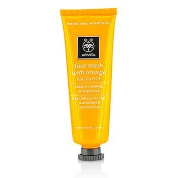 Apivita Face Mask With Orange - Radiance