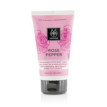 Apivita Rose Pepper Firming & Reshaping Body Cream