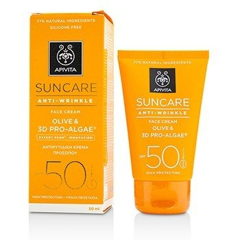 Apivita Suncare Anti-Wrinkle Face cream SPF