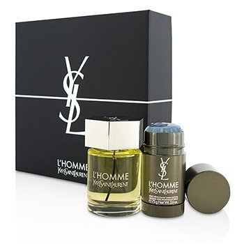Yves Saint Laurent LHomme Coffret: Eau De Toilette Spray 100ml + Deodorant Stick 75g