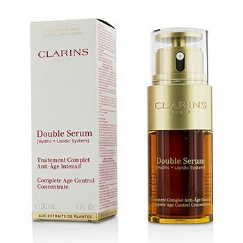 Clarins Double Serum (Hydric + Lipidic System) Complete Age Control Concentrate