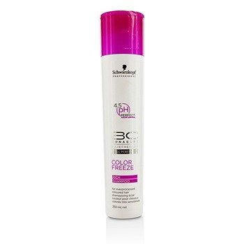 BC Color Freeze Rich Shampoo - For Overprocessed Coloured Hair (Cap Slightly Damaged)