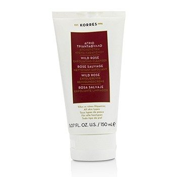 Korres Wild Rose Exfoliating Cleanser