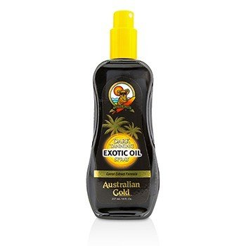Australian Gold Dark Tanning Exotic Oil Spray