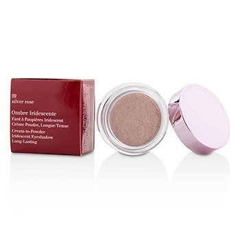 Clarins Ombre Iridescente Cream To Powder Iridescent Eyeshadow - #09 Silver Rose