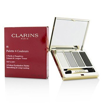 Clarins 4 Colour Eyeshadow Palette (Smoothing & Long Lasting) - #05 Smoky