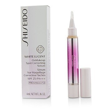 Shiseido White Lucent OnMakeup Spot Correcting Serum SPF 25 PA+++  - # Natural